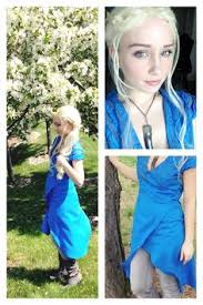 Game Thrones Halloween Costumes Daenerys Game Thrones Cosplay Daenerys Targaryen Dress