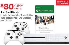 black friday deals xbox one accessories games and bundles costco wholesale black friday xbox one s bundle 80 off