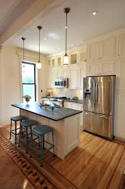 one wall kitchen with island one wall kitchen designs with an island with well kitchen island