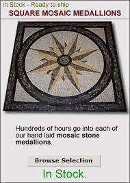 tile floor medallions home tiles