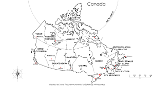 Blank Outline Map Of Asia Printable by Outline Map Of Canada Provinces And Territories You Can See A
