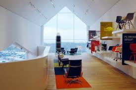 Modern Furniture Showroom by Vitra Haus The Ultimate Modern Furniture Showroom