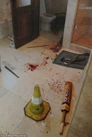 Bathroom Seen Photos by Police Photographer Reveals How Oscar Pistorius Crime Scene Haunts