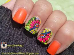 nailart and things floral nail art advance stamping decals