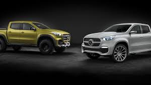 ferrari truck concept mercedes benz unveils not one but two concept x class pickup