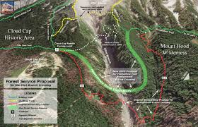 Mt Hood Trail Map Good News From The Hood River Rd Wyeast Blog