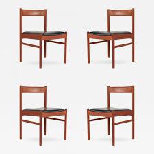 Modern Chairs Grete Jalk Set Of Four Grete Jalk Style Teak Danish Modern