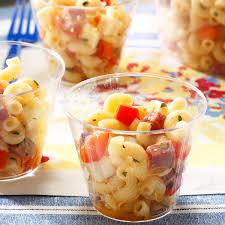salami u0026 provolone pasta salad recipe taste of home