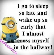 Funny Minion Memes - funny minion quote about sleep funny funny minion quote funny