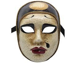 authentic venetian masks sad authentic venetian mask
