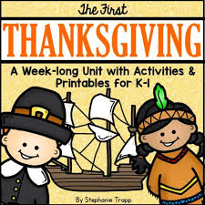 thanksgiving unit for kindergarten and grade primary