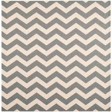 Large Outdoor Rugs by Safavieh Courtyard Gray Bone 4 Ft X 4 Ft Indoor Outdoor Square