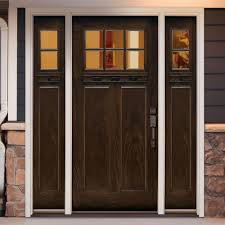 home depot front doors with sidelights in modern home decor