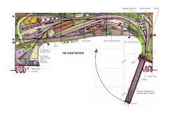 Railroad House Plans Module Track Plan By Iain Rice Model Railroad Plans Pinterest