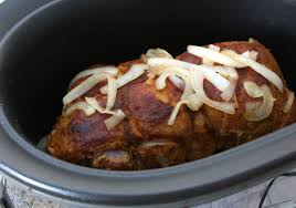 crock pot pork shoulder for pulled pork sandwiches