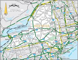 map of new york ny new york map