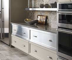 Stainless Steel Kitchen Cabinets Painted Maple Kitchen Cabinets Omega Cabinetry