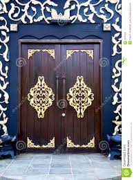 House Doors Traditional Malay House Door Doors Pinterest Doors