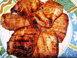 grilled boneless pork sirloin chops with brown sugar rub