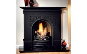 black fireplaces binhminh decoration