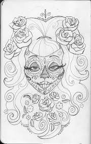 dead flower coloring page printable day of the dead skulls coloring pages leigh young