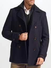 john lewis 2 in 1 pea coat navy zazsi shops