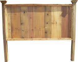 king size knotty pine headboard from vintage headboards pine