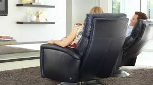 comfort recliner by american leather youtube
