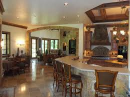 Enticing Dining Area Several Stone Wall And Flooring Ideas Living Room Kopyok