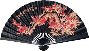 oriental fan wall hanging wall fan decor home decorating ideas