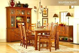 mission style dining room furniture dining table with chairs inside mission style dining room chairs
