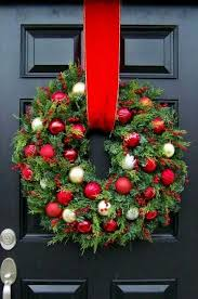 big and bold wreath naturalcurtaincompany kerst