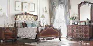 Royal Bedroom Set by Unique Wing Back Design Royal Bed Set Antique Carved Wooden Post