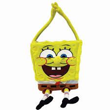 plush easter baskets nickelodeon jumbo spongebob plush easter basket