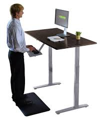 wildon home adjustable standing desk adjustable standup desk bamboo electric powered standing office