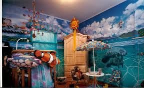bonnie siracusa murals fine art south pacific islands mural opposite wall katie s room syosset ny