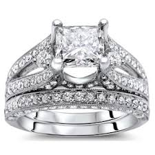 overstock bridal sets 2 5 to 3 carats engagement rings shop the best deals for nov