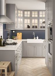 Ikea Kitchens Pictures by Interior Grey Ikea Kitchens Throughout Imposing Ikea Kitchen