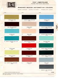 original chrysler imperial paint chip charts u0026 their codes