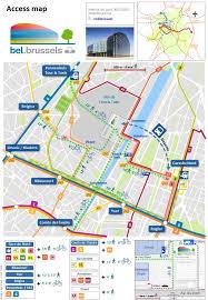 map brussels access bel brussels