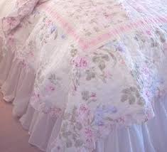 Queen Shabby Chic Bedding by Queen Rachel Ashwell Shabby Chic White Ruffled Bedskirt Dust