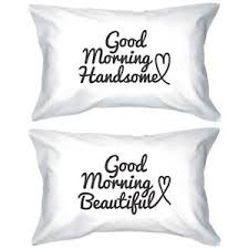 his and hers pillow cases his and hers matching pillowcases morning pillow