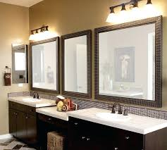 Bathroom Mirror Frames Kits Bathroom Mirror Wood Frame Framed Bathroom Mirrors Also Bathroom