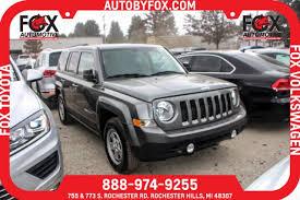 2014 jeep patriot sport fwd used 2014 jeep patriot for sale rochester mi