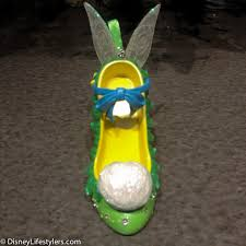 tinker bell character inspired shoe ornament