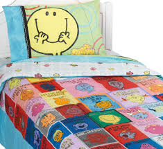 Twin Airplane Bedding by Mr Men Little Miss Bedding Set Flat Sheet Fitted Sheet Pillowcase