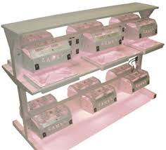 manicure pedicure nail dryer station with shelf 200209