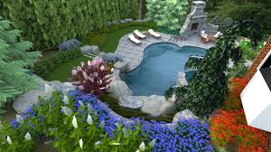 Pool Landscape Design by A