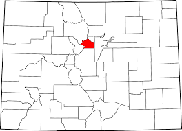Map Of Golden Colorado by Clear Creek County Colorado Wikipedia
