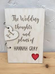 wedding planner notebook personalised wedding planner wooden cover journal notebook notepad